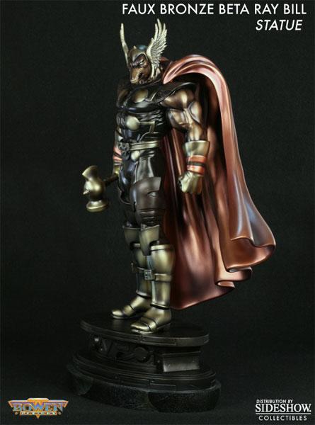 marvel faux bronze beta ray bill polystone statue by bowen