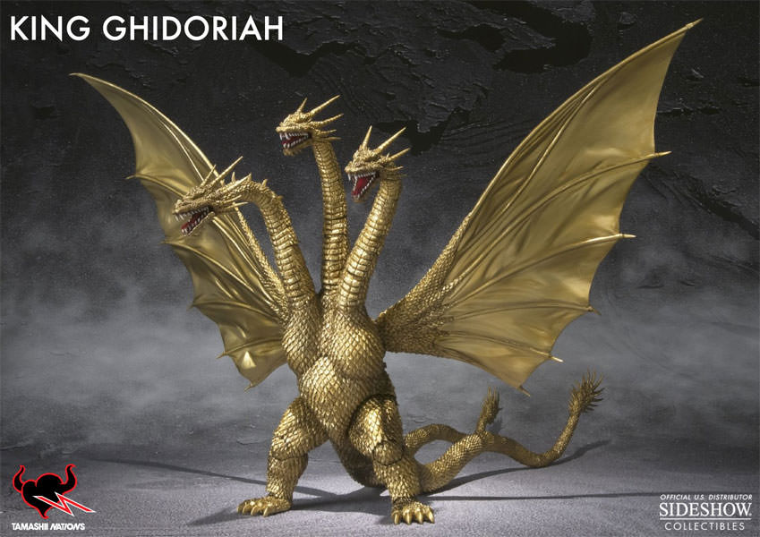 Monsters - General King Ghidorah (Godzilla) Collectible ...
