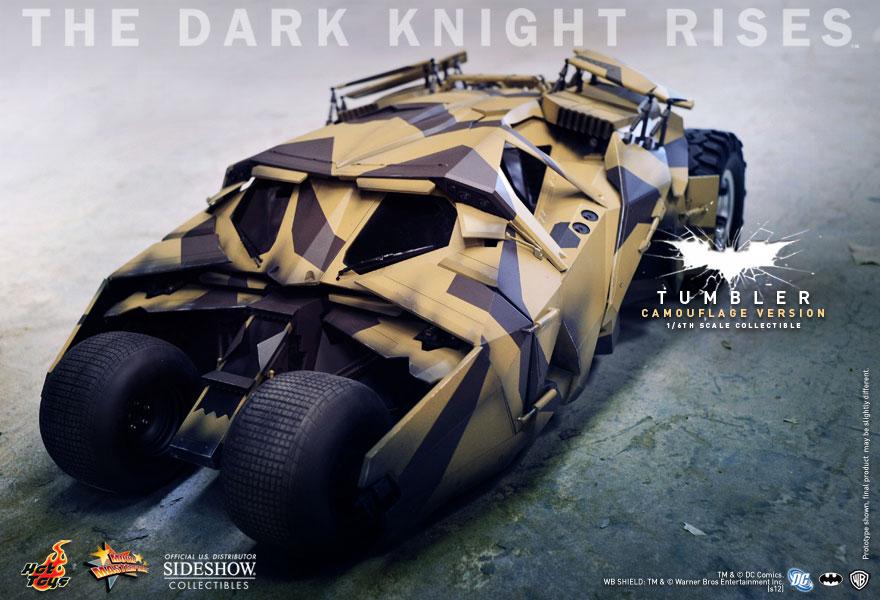 DC Comics Batmobile - Tumbler (Camouflage Version) Sixth ...