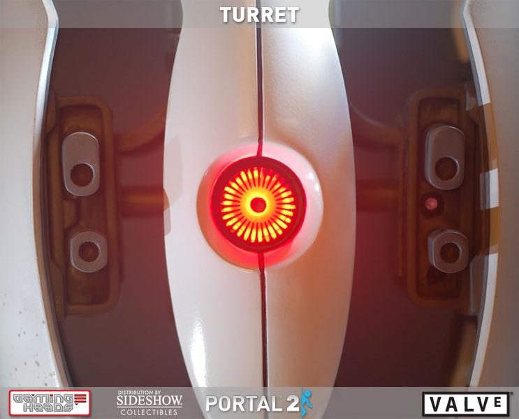 Portal 2 Turret Polystone Statue