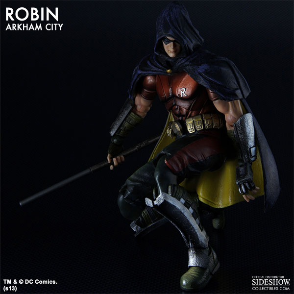 Robin - Arkham City Collectible FigureRobin Arkham City Hood
