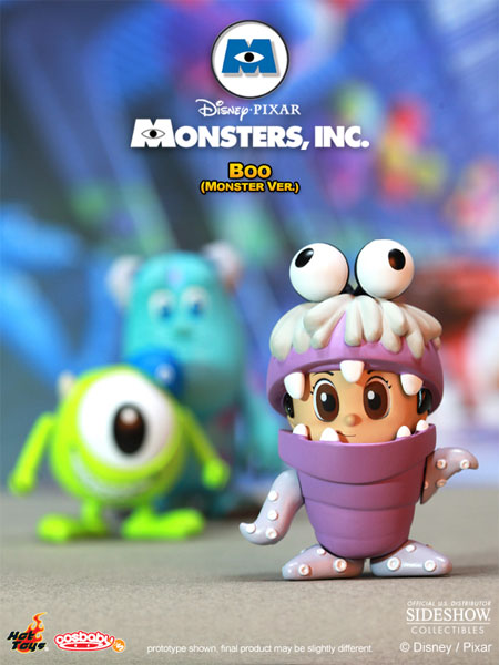 Disney Boo Monster Version Vinyl Collectible By Hot Toys