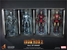 Hot Toys Hall of Armor (Set of Four) Sixth Scale Figure Environment