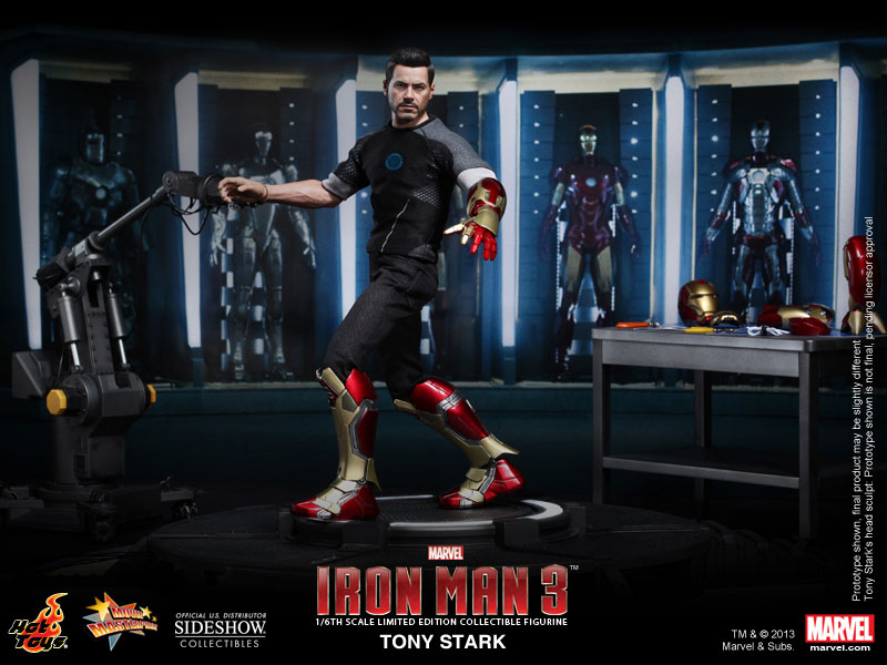 Marvel Tony Stark Sixth Scale Figure by Hot Toys ...