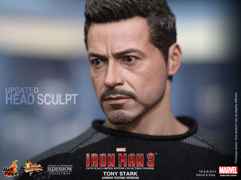 Marvel Tony Stark Sixth Scale Figure By Hot Toys Sideshow Collectibles