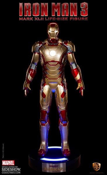 Marvel Iron Man MARK 42 Life-Size Figure by Beast Kingdom ...