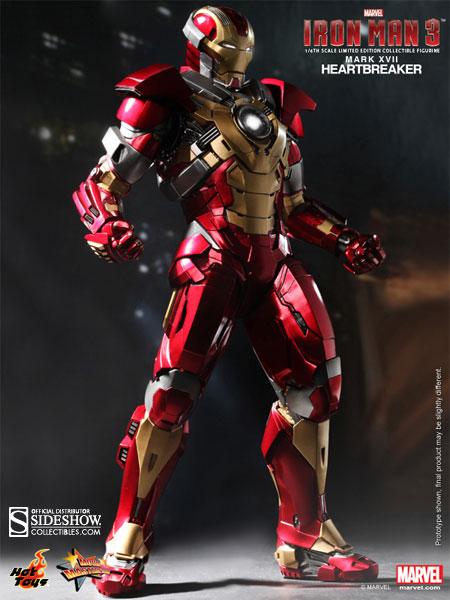 Iron Man 3 Armor Suits Mark 17 Marvel Iron Man Mark 1...