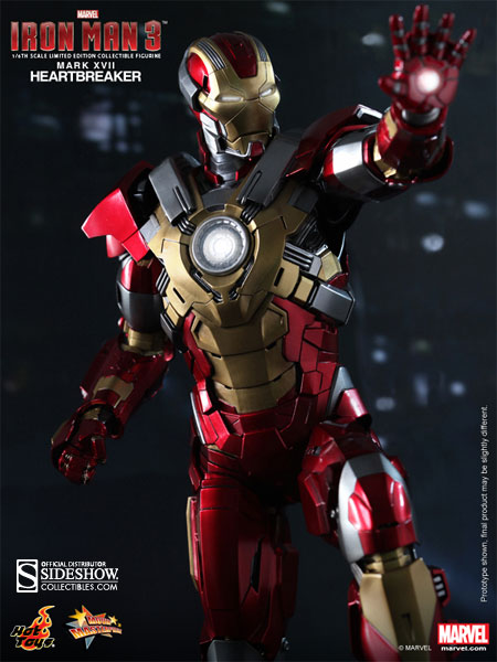 Marvel Iron Man Mark 17: Heartbreaker Sixth Scale Figure ...