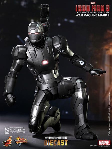 Marvel Iron Man 3: War Machine - Mark II Sixth Scale ...