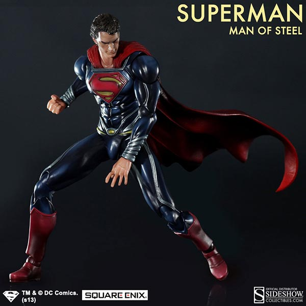 DC Comics Superman - Man of Steel Collectible Figure by ...