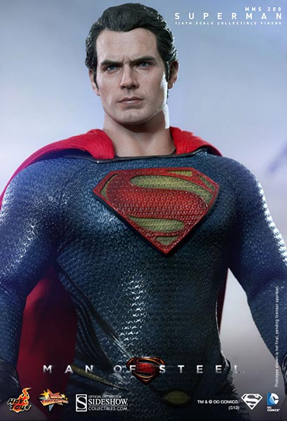 Hot Toys Man of Steel Superman | Sideshow Collectibles