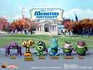 Hot Toys Monsters University Cosbaby Set Vinyl Collectible