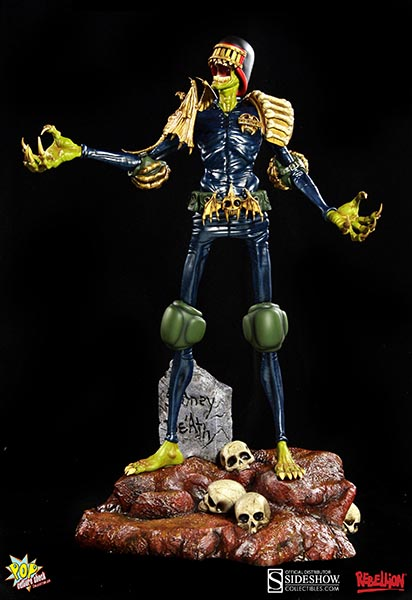 2000 AD Judge Death Statue by Pop Culture Shock   Sideshow
