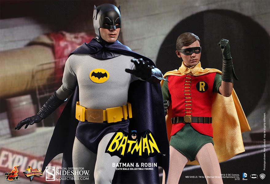 ... Hot Toys Batman (1960s TV Series) Sixth Scale Figure