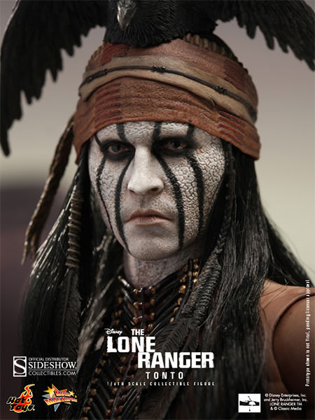 disney tonto sixth scale figure by hot toys sideshow