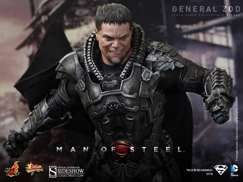 general zod sixth scale figure sideshow collectibles