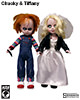 Chucky and Tiffany Living Dead Dolls Collectible Figure