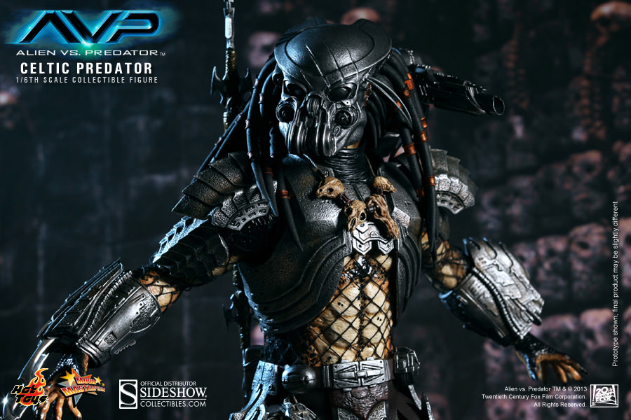 Celtic predator sideshow collectibles celtic predator collectible figure voltagebd Image collections