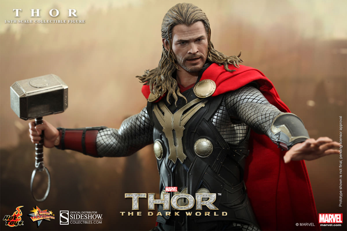 Toys For Chris : Thor sixth scale figure sideshow collectibles