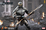 Hot Toys Chitauri Commander and Footsoldier Sixth Scale Figure Set