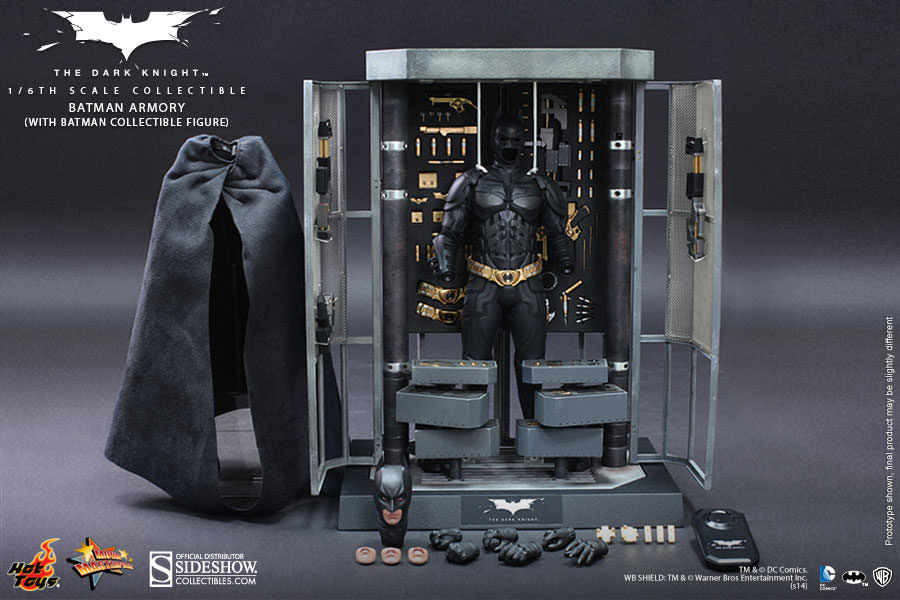 Batman Armory with Batman Sixth Scale Figure Batman Armory with Batman BB8mD5tO
