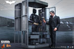Hot Toys Batman Armory with Bruce Wayne and Alfred Sixth Scale Figure Set