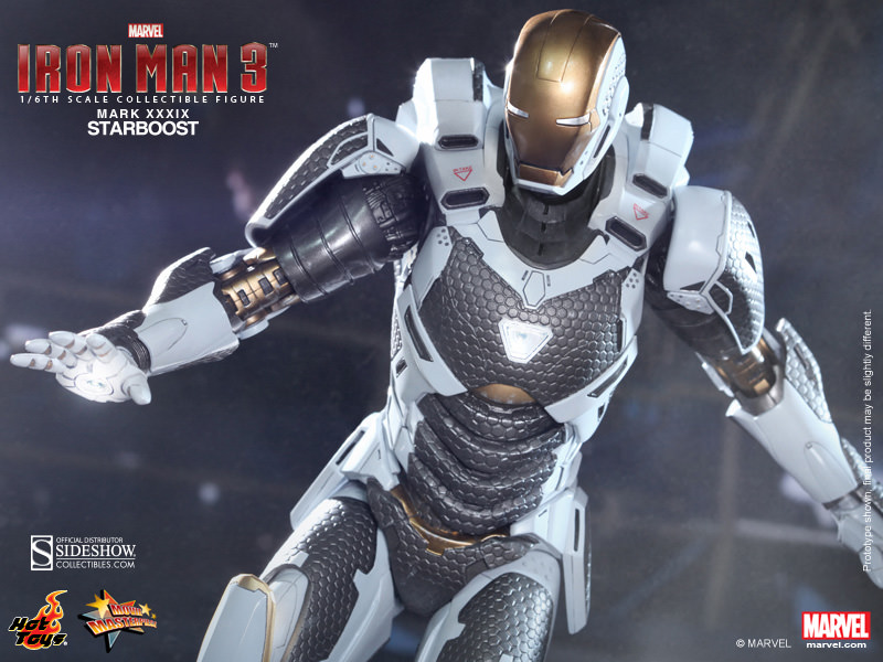 hot toys iron man mark xxxix starboost sixth scale figure