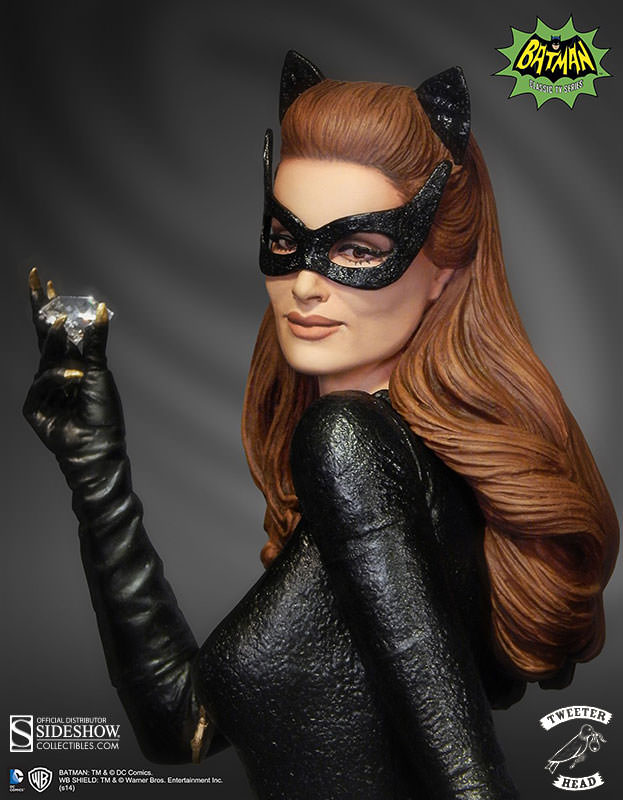 Dc Comics Catwoman Maquette Diorama By Tweeterhead