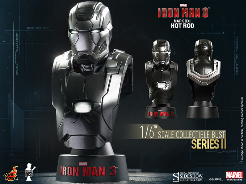 Marvel Iron Man Mark 22 - Hot Rod Collectible Bust by Hot ...