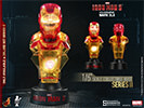 Hot Toys Iron Man 3 Deluxe (Set of Eight) Collectible Bust