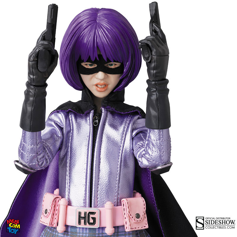 Girl Toy Figures : Kick ass hit girl sixth scale figure by medicom toy