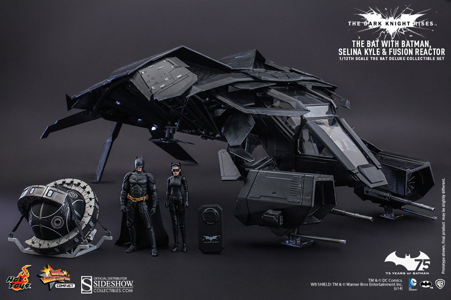 DC Comics The Bat Deluxe Collectible Set by Hot Toys ...