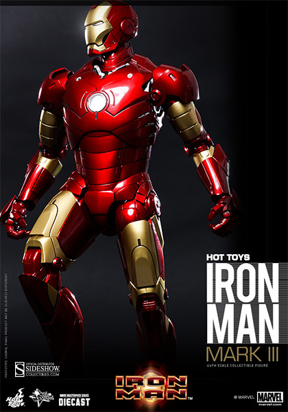 Marvel Iron Man Mark III Sixth Scale Figure by Hot Toys ...