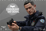 Hot Toys John Blake with Bat-Signal Collectible Set