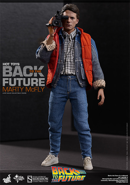 Marty mcfly sixth scale figure hot toys marty mcfly sixth scale figure