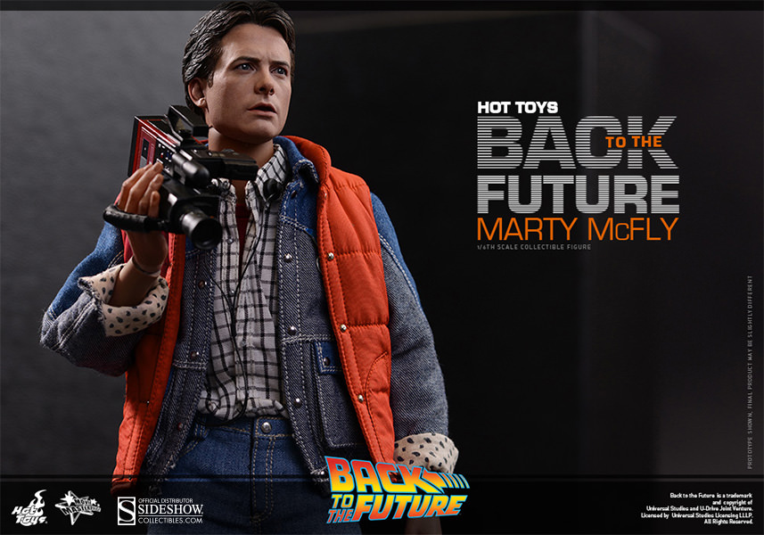Hot Toys Marty McFly Sixth Scale Figure WBlhIhV6