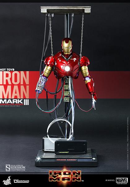 marvel iron man mark iii construction version sixth scale