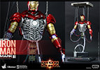 Hot Toys Iron Man Mark III Construction Version Sixth Scale Figure