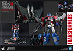 Hot Toys Optimus Prime (Starscream Version) Collectible Figure