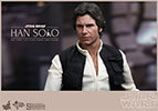 Hot Toys Han Solo and Chewbacca Sixth Scale Figure