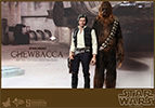 Hot Toys Han Solo and Chewbacca Sixth Scale Figure Set