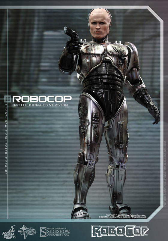 Robocop RoboCop Battle Damaged Version Sixth Scale Figure ...