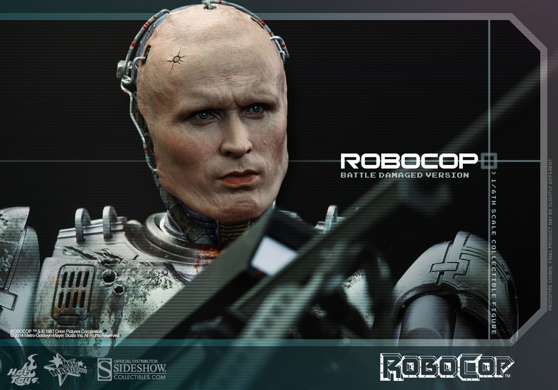robocop robocop battle damaged version sixth scale figure