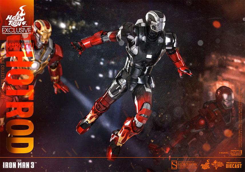 Marvel Iron Man Mark XXII - Hot Rod Sixth Scale Figure by ...