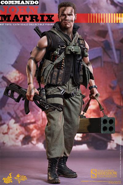 figurine Commando  John Matrix  NECA42140  metalmonde