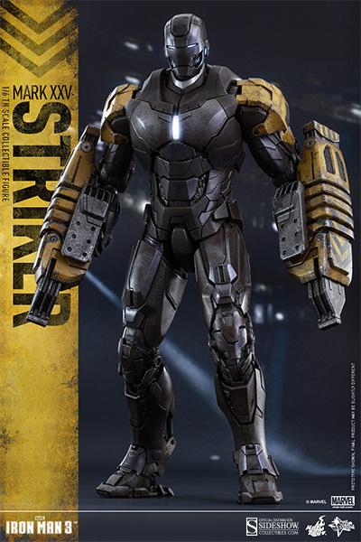 Marvel Iron Man Mark XXV - Striker Sixth Scale Figure by ...