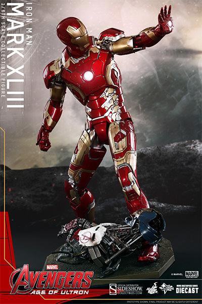 Toys Figures Figure Hot Toys Iron Man