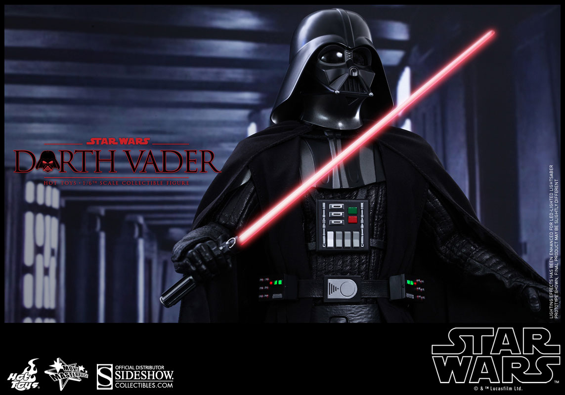 star wars darth vader sixth scale figure by hot toys. Black Bedroom Furniture Sets. Home Design Ideas