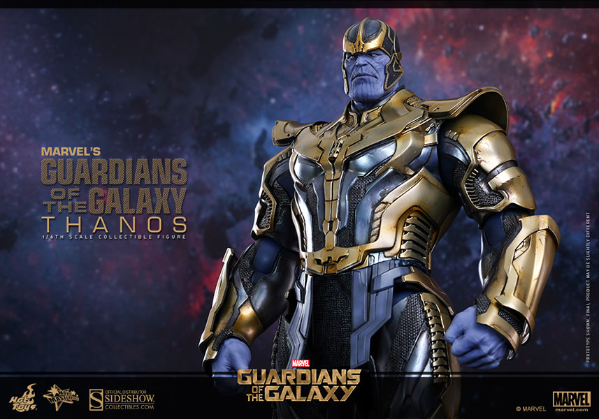 Marvel Thanos Sixth Scale Figure Hot Toys Sideshow