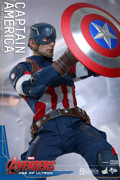 Marvel Captain America Sixth Scale Figure By Hot Toys